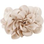 Sondra Roberts 'Rose' Satin Box Clutch Ivory